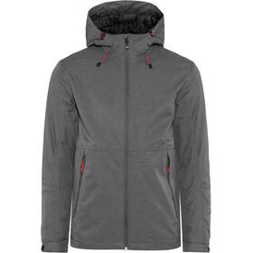 Meru Sandviken Waterproof Padded Jacket Men dark shadow melange